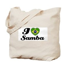 I love Samba Tote Bag