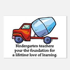 Kindergarten Teacher Gifts Postcards (Package of 8