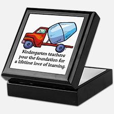 Kindergarten Teacher Gifts Keepsake Box