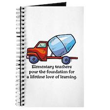 Elementary Teacher Gifts Journal