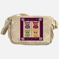 Cute Owls Messenger Bag
