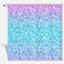 Funny Glitter Shower Curtain