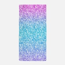 Cool Glitter Beach Towel