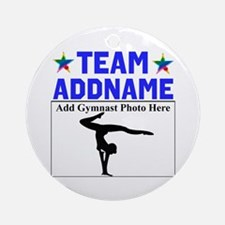 TEAM GYMNAST Ornament (Round)