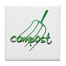 compost Tile Coaster