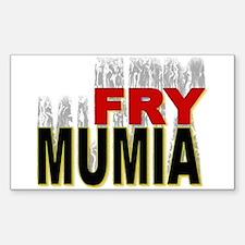 Fry Mumia Sticker (Rect.)