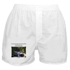 Smoky Mountain Stream Boxer Shorts