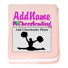 AWESOME CHEER baby blanket