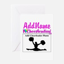 AWESOME CHEER Greeting Card