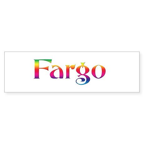 Fargo Bumper Sticker