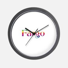 Fargo Wall Clock