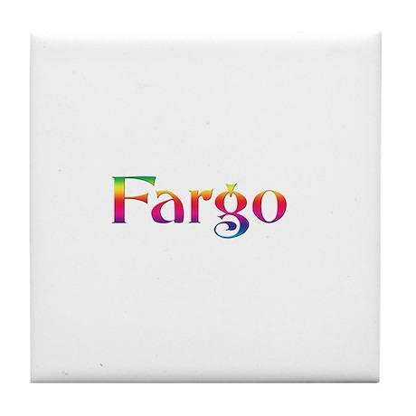 Fargo Tile Coaster