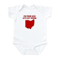 OHIO STATE SHIRT T-SHIRT FUNN Infant Bodysuit