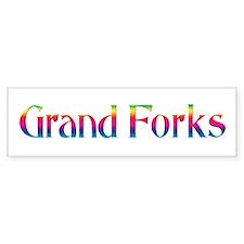 Grand Forks Bumper Bumper Sticker