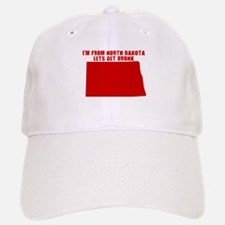 NORTH DAKOTA T-SHIRT FUNNY NO Baseball Baseball Cap