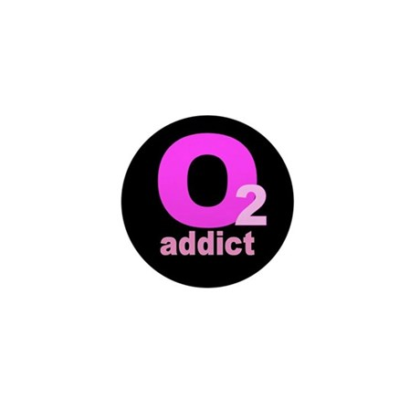 O2 ADDICT Mini Button