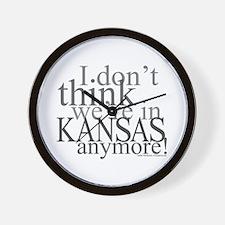 Not in Kansas Anymore! Wall Clock