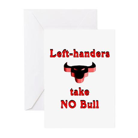 NO Bull Greeting Cards (Pk of 10)