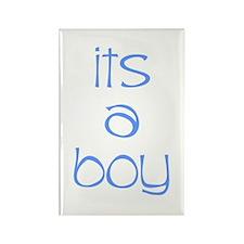 Its A Boy Rectangle Magnet