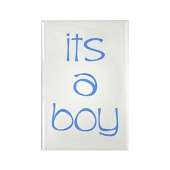 Its A Boy Rectangle Magnet
