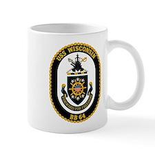 USS Wisconsin BB-64 Mug
