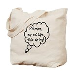 Planning Escape (Spring) Tote Bag