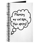 Planning Escape (Spring) Journal