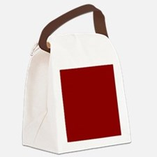 Cute Red Canvas Lunch Bag