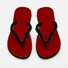 Cute Red Flip Flops