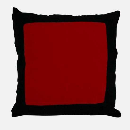 Cute Red Throw Pillow