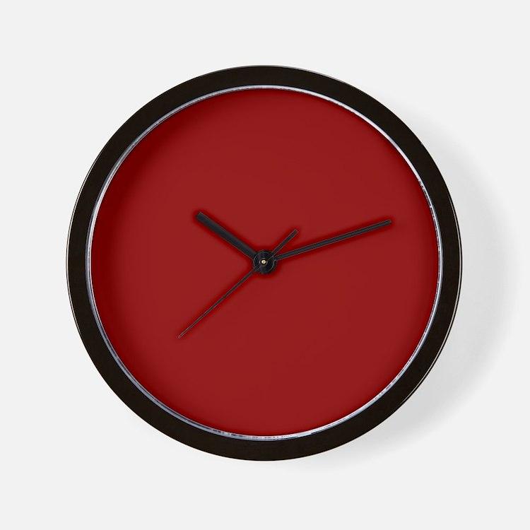 Cute Red Wall Clock