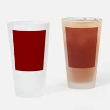 Cool Red Drinking Glass