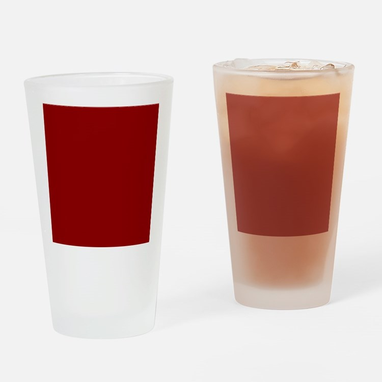 Cute Red Drinking Glass