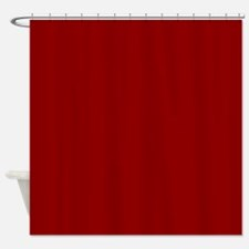 Unique Red Shower Curtain