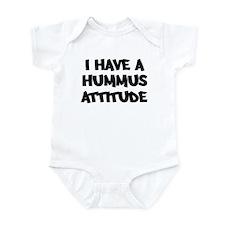 HUMMUS attitude Infant Bodysuit