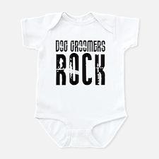 Dog Groomers Rock Infant Bodysuit
