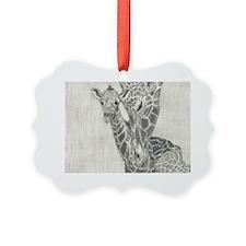 Giraffes Ornament