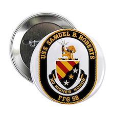 """Uss Samuel B. Roberts Ffg-58 2.25"""" Button"""