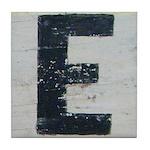 Letter E Tile Coaster