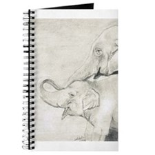 Unique Elephant mother and baby Journal
