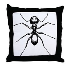 Carpenter Ant Throw Pillow