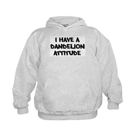 DANDELION attitude Kids Hoodie