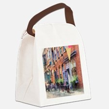 Ice Cream Parlor Easton PA Canvas Lunch Bag