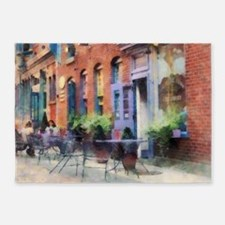 Ice Cream Parlor Easton PA 5'x7'Area Rug