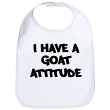 GOAT attitude Bib