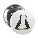 Black Runner Ducks Button