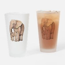 Cute African animals Drinking Glass