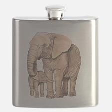 Unique Animals Flask
