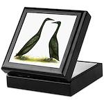 Black Runner Ducks Keepsake Box