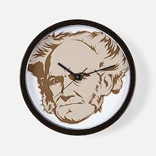 Strk3 Schopenhauer Wall Clock
